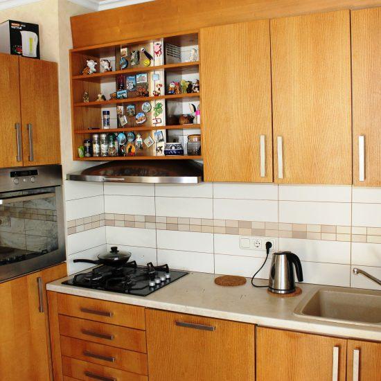 Pārdomāta virtuves iekārta